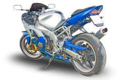 Motorcycle isolated Royalty Free Stock Photos