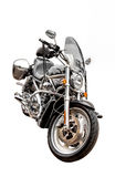 Motorcycle, isolated against white background Royalty Free Stock Photos