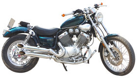 Motorcycle isolated Royalty Free Stock Photo