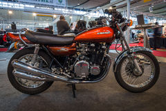 Motorcycle Kawasaki 900 Z1, 1973. Royalty Free Stock Photo