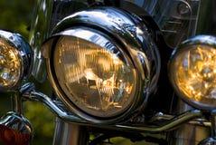 Motorcycle lights Stock Photo