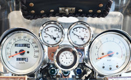 Motorcycle main board Royalty Free Stock Images