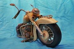 Motorcycle model. Metal model of historic motorcycle Stock Photos
