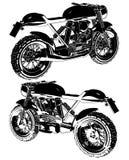 Motorcycle Motocross Vector Royalty Free Stock Photo