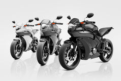 Motorcycle Motorbike Bike Riding Rider Contemporary Concept Stock Images