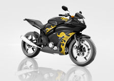 Motorcycle Motorbike Bike Riding Rider Contemporary Concept Royalty Free Stock Photos