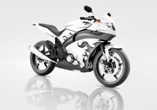 Motorcycle Motorbike Bike Riding Rider Contemporary Concept Royalty Free Stock Photography