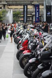 Motorcycle in Motorbike 2014 Stock Image