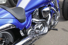 Motorcycle. Motorcykle in bike show Vilnius Royalty Free Stock Photography