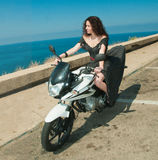 Motorcycle is  my love Stock Photos