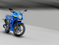 Motorcycle outdoor motion blur Stock Photography