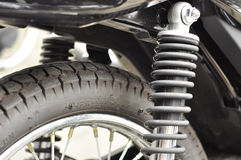 Motorcycle Part Royalty Free Stock Images