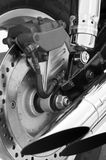 Motorcycle parts Royalty Free Stock Images