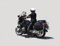 Motorcycle policeman Royalty Free Stock Image