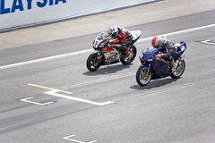 Motorcycle Race Stock Image