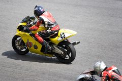 Motorcycle Race Royalty Free Stock Images