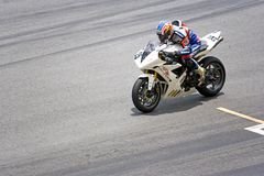 Motorcycle Race Stock Images
