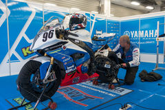 Motorcycle Race Cup Moscow Region Governor Royalty Free Stock Images