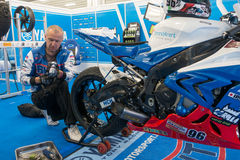 Motorcycle Race Cup Moscow Region Governor Royalty Free Stock Photography