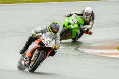 Motorcycle Race Cup Moscow Region Governor Stock Photography