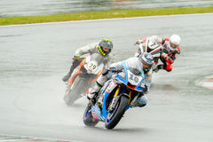 Motorcycle Race Cup Moscow Region Governor Royalty Free Stock Photo