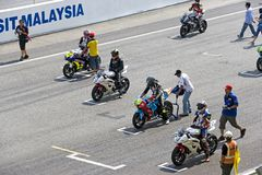 Motorcycle Race, Malaysia Royalty Free Stock Image