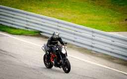 Motorcycle race Stock Image