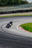 Motorcycle race Royalty Free Stock Photos