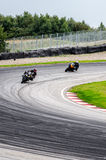 Motorcycle race Stock Photos