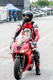 Motorcycle race Royalty Free Stock Image
