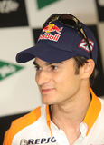 Motorcycle racer Dani Pedrosa Royalty Free Stock Photography