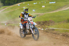 Motorcycle racer Royalty Free Stock Photography