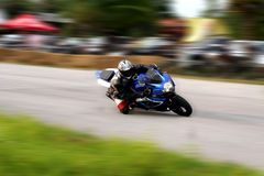 Motorcycle Racing Stock Image