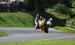 Motorcycle Racing, Cock o' the North, Oliver's Mount Stock Photo