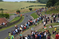 Motorcycle Racing, Cock o' the North, Oliver's Mount Royalty Free Stock Photo