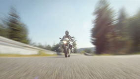Motorcycle racing stock footage