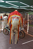 Motorcycle Racing Leathers Royalty Free Stock Photos