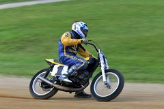 Motorcycle racing Royalty Free Stock Photography