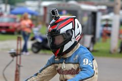 Motorcycle racing Royalty Free Stock Photo