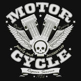 Motorcycle Racing Typography Graphics - vector Stock Photo