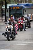 Motorcycle rally Stock Images
