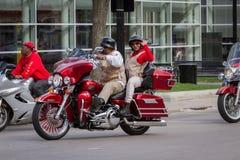 Motorcycle rally Stock Photo