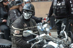 Motorcycle rally in Wroclaw, Poland Stock Photos