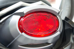 Motorcycle rear lights Royalty Free Stock Image