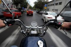 Motorcycle ride 01 Royalty Free Stock Photo