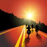 Motorcycle ride Royalty Free Stock Photos