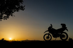 Motorcycle ride Stock Images