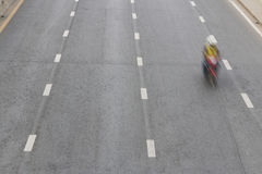 Motorcycle ride on the road Royalty Free Stock Photography