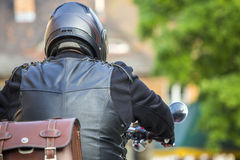 Motorcycle rider Royalty Free Stock Images