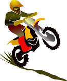 Motorcycle rider Stock Photos